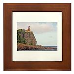 Split Rock Lighthouse Framed Tile