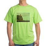 Split Rock Lighthouse Green T-Shirt