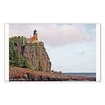 Split Rock Lighthouse Rectangle Sticker 10 pk)