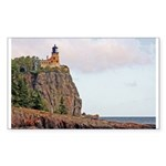 Split Rock Lighthouse Rectangle Sticker 50 pk)