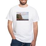 Split Rock Lighthouse White T-Shirt