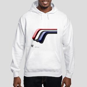 Mustang Deluxe 2 Sides Hooded Sweatshirt