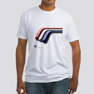 Mustang Deluxe 2 Sides Fitted T-Shirt