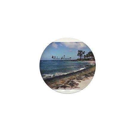 Aloha Sand Mini Button