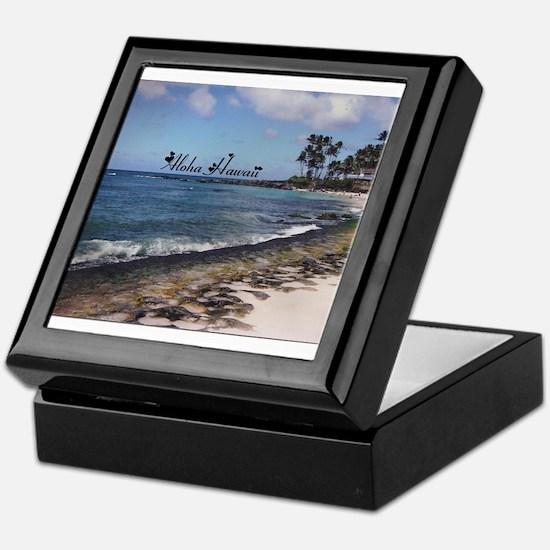 Aloha Sand Keepsake Box