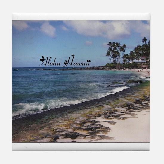 Aloha Sand Tile Coaster