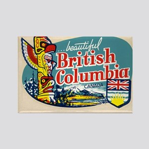 Beautiful British Columbia Canada Magnet