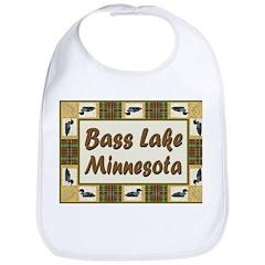 Bass Lake Loon Bib