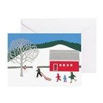 Ski Hill Greeting Cards (Pk of 20)