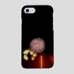 Harvest Moons Fireworks iPhone 7 Tough Case