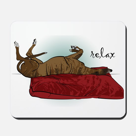 Relax Greyhound Mousepad