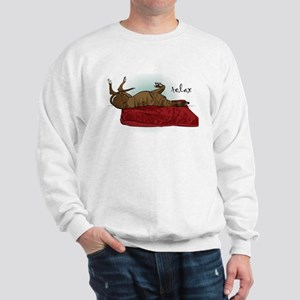 Relax Greyhound Sweatshirt