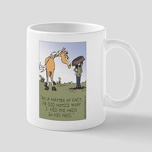 Horse Health - Hidden Meds Large Mugs