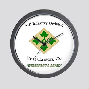 """4th inf div """"Steadfast and lo Wall Clock"""