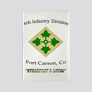 """4th inf div """"Steadfast and lo Rectangle Magne"""