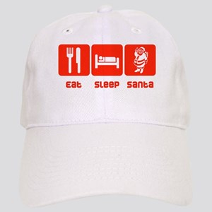 Eat Sleep Santa Cap