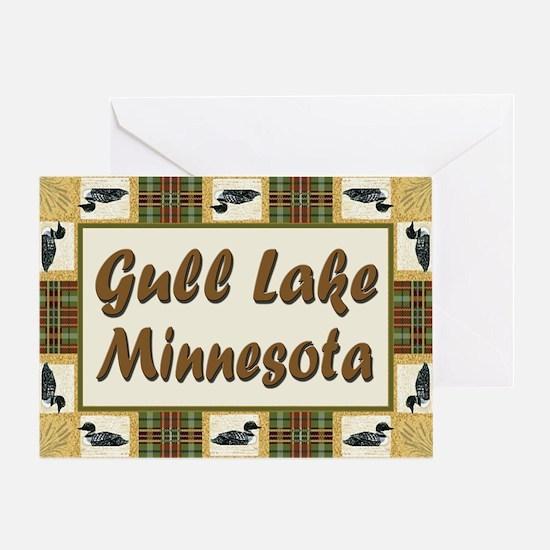 Gull Lake Loon Greeting Card