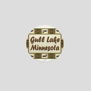 Gull Lake Loon Mini Button