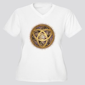Celtic Sun Women's Plus Size V-Neck T-Shirt