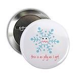 """grumpy snowflake 2.25"""" Button"""
