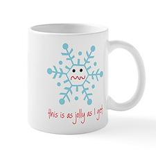 grumpy snowflake Mug