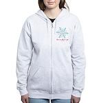 grumpy snowflake Women's Zip Hoodie