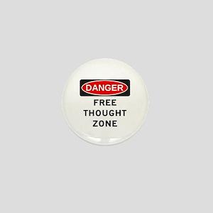 Free Thought Mini Button