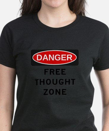 Free Thought Women's Dark T-Shirt
