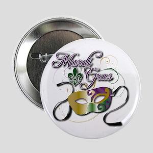"Mardi Gras 3 2.25"" Button"