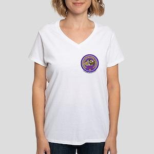 111 2 SIDE Women's V-Neck T-Shirt
