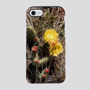 Harvest Moons Cactus Flowers iPhone 7 Tough Case