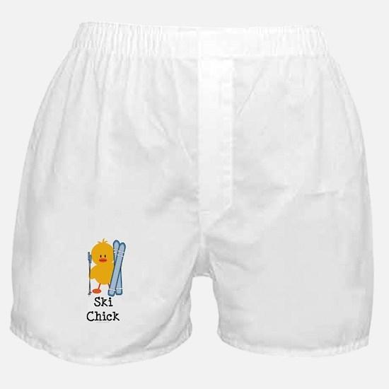 Ski Chick Boxer Shorts