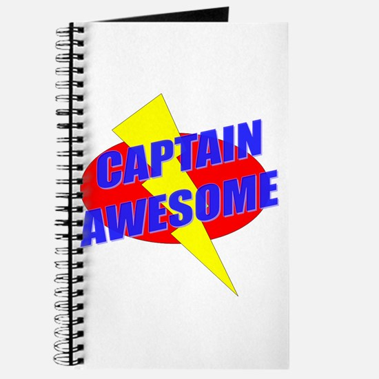 Captain Awesome Journal