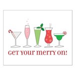 get your merry on. Small Poster