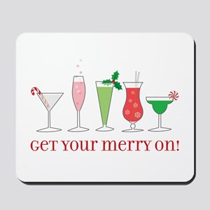get your merry on. Mousepad