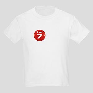 I am 7 Kids T-Shirt