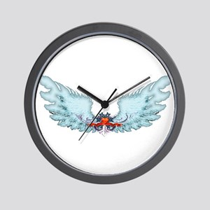 Your Very Own Angel Wings Wall Clock