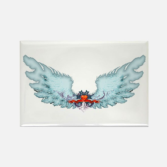 Your Very Own Angel Wings Rectangle Magnet