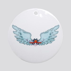 Your Very Own Angel Wings Ornament (Round)