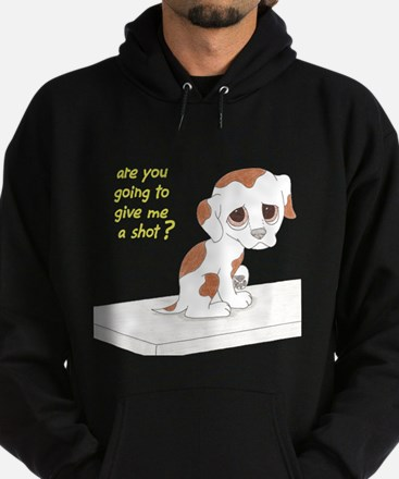 Are You Going To Give Me A Sh Hoodie (dark)