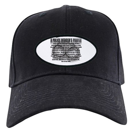 A POLICE OFFICER'S PRAYER Black Cap