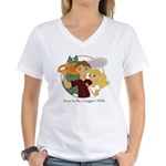 Soon to Be A Logger's Wife Women's V-Neck T-Shirt