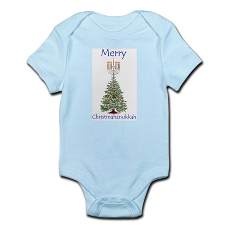 Christmas/Hanukkah Humor Gift Infant Creeper