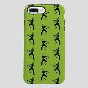 Green Zombie Pattern iPhone 7 Plus Tough Case