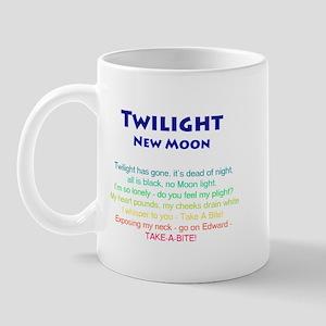 Twilight New Moon Movie Merch Mug