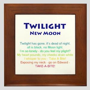 Twilight New Moon Movie Merch Framed Tile
