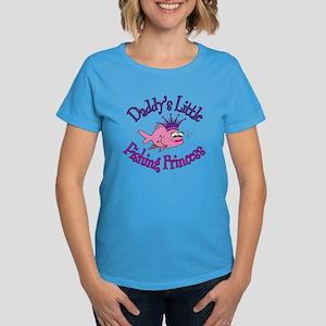 Daddy's Fishing Princess Women's Dark T-Shirt