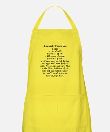 Swedish Pancakes on Apron
