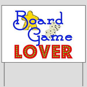 Board Game Lover Yard Sign