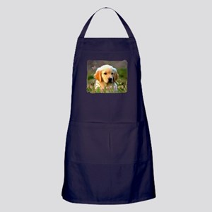 Austin, Retriever Puppy Apron (dark)